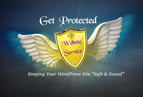 """Get Protected"""" Website Service Keeping Your WordPress Site Safe & Sound"""